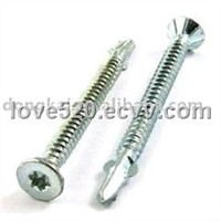 Self-Drilling Screws with Flat Head