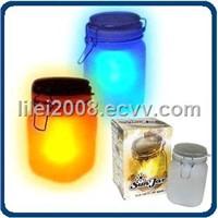 Sun Jar -- Solar Power LED Mood Light