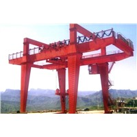 Twin beams lifting hook gate crane series