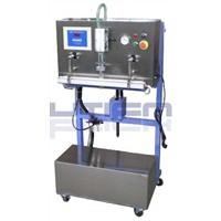 VERTICAL EXTERNAL VACUUM GAS FILLING PACKAGING MACHINE