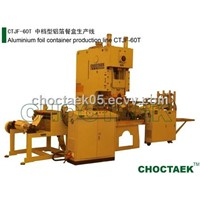 aluminum foil pan production line