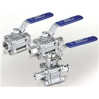 Ball Valve with Hanle