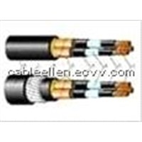 Cooper Screen Armoured Control Cable