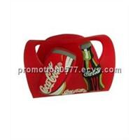 customized soft PVC cellphone holder