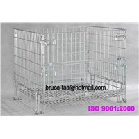 folding wire cage/mesh container