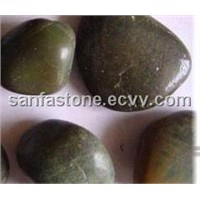 Green Granite Pebbles