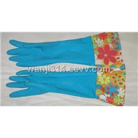 Long Cuff Household Latex Gloves