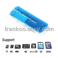 Multi Memory Card Reader SDHC Support