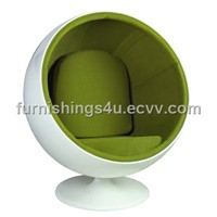 plastic chair/fiberglass chair/ Ball Chair/globe chair/relaxing chair