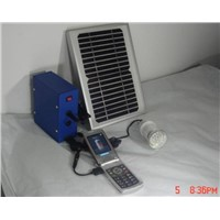 portable solar home lighting/charging system