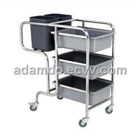 Stainless Collecting Cart (YC-103F)