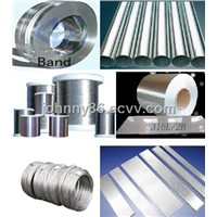 stainless steel material: coil/ sheet/ wire/bar