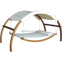 swing bed,wooden swing bed