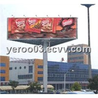 Rotating three-side Outdoor Billboard