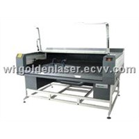 Double-Head Laser Cutter Machine for Cow Leather /Pigskin Seat Cover
