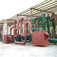 wood sawdust dryer made by yugong