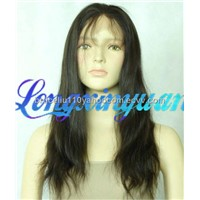 100 Percent Human Hair Full Lace Wig