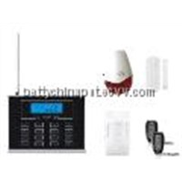 29 Wireless zones GSM LCD Display Home Alarm with touch keypad