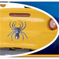 3D Car Sticker with Chrome Finished and Fashionable Design