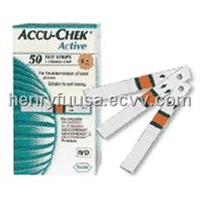 Accucheck Active Test Strips