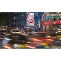 City Advertising LED Screens