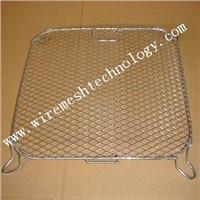 JHT chromed barbecue grill mesh ,stainless steel barbecue grill mesh