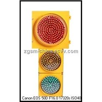 LED Traffic Signs - Orange Color Housing