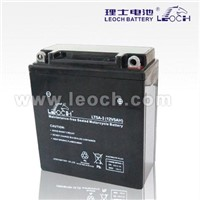 LEOCH Maintenance Free Battery For Motorcycle With 12V Voltage And 5AH