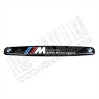 M Aluminum Gel Arc Car Logo Sticker