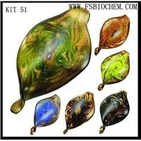 Murano glass Pendant Necklace Earring Jewelry Set,murano glass jewelry