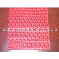 PVC plastic mat machine
