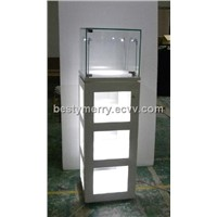 Pandora small glass wisible tower display cabinet