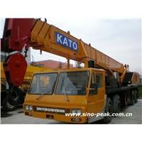 USED 40 TON KATO CRANE NK-400E