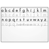 Alphabet Writing Board