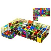 Children Indoor Soft Playground Equipment (LJ-10265A)