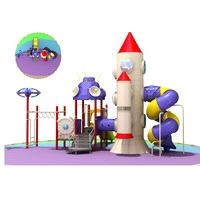 Children Plastic Playground Equipment (LJ-10226A)