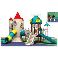Children Plastic Playground Equipment (LJ-10226B)