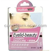 eyelid liquid remover cotton swab