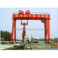gantry crane with shield