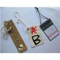 garment accessories hang tag