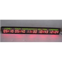 Indoor World Time Clock