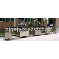 rinser, filler, capper filling machine