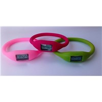 shapd rubber band with digital watch