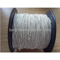 Silver Ball Chain Spool