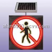 Solar Traffic Signal