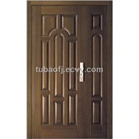 Wooden Security Front Door