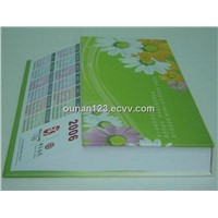 Sticky Note Pad with calendar