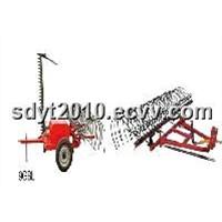 9GBL mower and Rake