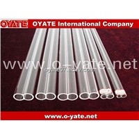 Double Hole Quartz Tube