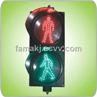 "200mm(8"") LED Static Pedestrian Traffic Light"